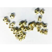 Wholesale Connector Tube CNC Machining Brass Parts , Small Cnc Machined Components from china suppliers