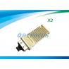 1310nm Single Mode Fiber Transceiver , 10km LC Transceiver 10gbase-sr x2 module DDM for sale