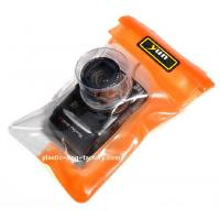 Diving / surfing  reusable Plastic TPU waterproof camera pouch for Nikon Casio