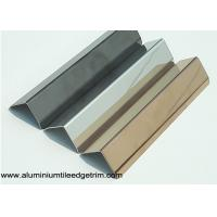 Wholesale 25mm X 25mm Aluminum / Stainless Steel Corner Guards For Walls Mirror Effect from china suppliers