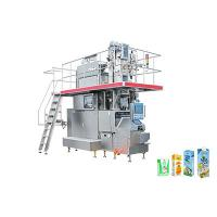 Wholesale Aseptic Carton Beverage Filling Line Equipment Drinking UHT Dairy Milk And Juice from china suppliers