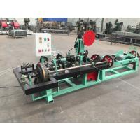 Quality Commom Twist Barbed Wire Machine With Automatic Electrol Control System for sale