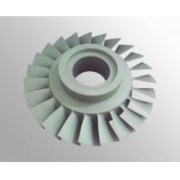 Buy cheap High temperature nickel base alloy turbo compressor wheel with vacuum investment from wholesalers