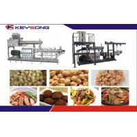 Wholesale Twin Screw Extruder Textured Soya Protein Meat Making Machine / Extrusion Equipment from china suppliers