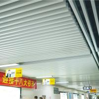 Wholesale Decorative Commercial Metal Strip Aluminium Baffle Ceiling Panels 35mm Width 150mm Height from china suppliers