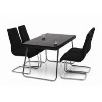 4 seater glass dining table T009