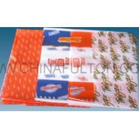 China Colorful Burger Wrapping Paper on sale