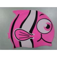Wholesale Silicone Childrens Swimming Caps With Printing Cartoon Unicorn Pink Swim Cap from china suppliers