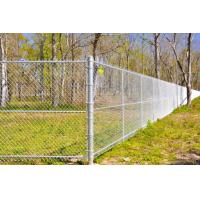 Wholesale High Secure Galvanized Chain Wire Fencing Chain Link Security Fence Long Time Life from china suppliers