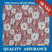 Wholesale 2014 china factory wholesale new design High quality tulle floral lace fabric for Garment from china suppliers