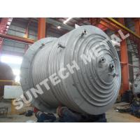 Best 316L Main body & 304  Half Pipe Industrial Chemical Reactors with platform wholesale