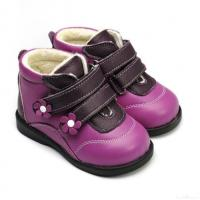 Buy cheap Freycoo Geunine Leather Children Boots For Winter from wholesalers