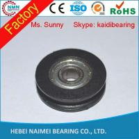 Buy cheap Electric cable nylon wire guide pulley wheels with bearings from wholesalers