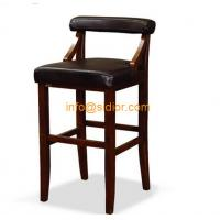 Wholesale CL-4404 luxury club bar furniture, solid wood bar chair, wooden bar stool, high bar chair from china suppliers