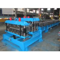 Best Color Steel Roofing Tile Forming Machine ,  Sheet Metal Forming Machines Double Press Mould wholesale