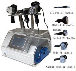 China RF Vacuum Ultrasonic Cavitation Slimming Machine For Lymphatic Drainage on sale