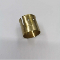 Wholesale CuZn31Si H68 Wrapped Bronze Bushing 46*42*72.5mm With Flange from china suppliers