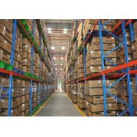 Wholesale Warehouse Industrial Heavy Duty Pallet Racking With Q235B Material 50.8mm Pitch from china suppliers