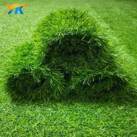 Wholesale Similar appearance like real grass UV resisted landscaping artificial grass from china suppliers