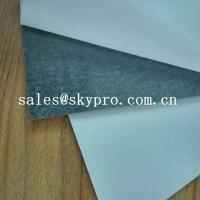 China Self - Adhesive Black Rubber Sheet Adhesive Backed SBR Rubber Sheet Heat Resistance on sale