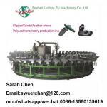 China PU slipper and sandals making machine for sale