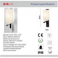 China Classical European design adjustable reading wall lamp & inside bed wall light for villa for sale