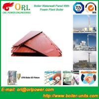 Best Power Plant Oil Fired Boiler Water Walls Once Through High Heating Efficiency wholesale