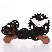 Wholesale Funky Decorative Silver Dog Gear Table Clock For Kids from china suppliers