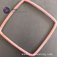 Wholesale Square or rectangle round cross shape PTFE FEP silicone encapsulated o-ring gasket from china suppliers