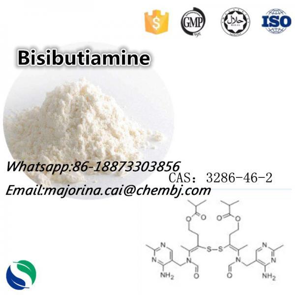 Quality Bisibutiamine Nootropics Bulk Powder for Memory Boosting CAS 3286-46-2 for sale