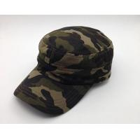 Wholesale Durable Camouflage Military Cadet Cap Pure Cotton 3d Embroidery Fitted from china suppliers
