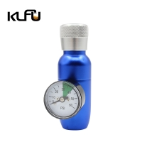 Wholesale 20UNF Mini Keg CO2 Regulator With 60psi Gauge Aluminum from china suppliers
