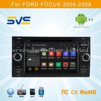 China Android 4.4 car dvd player with GPS for FORD FOCUS 2004-2008 with quad core 3G wifi ipod on sale