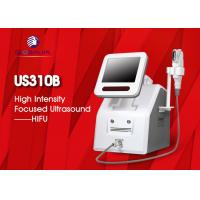 Wholesale 2 In 1 Hifu Facelift Machine 5 Cartriges For Wrinkle Removal / Body Slimming from china suppliers
