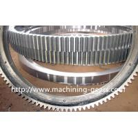 Polishing Large Diameter Engine Ring Gear / Industrial Custom Spur Gears For Machinery