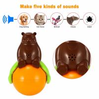 Wholesale Inventions Pet Tumbler Toy Sound And Light Ball five kinds of sounds from china suppliers