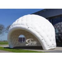 Wholesale 7x5m outdoor movable advertising white inflatable golf tent for trade shows or promotions from china suppliers