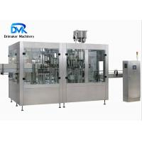 China 3.1kw Fruit Juice Filling And Packaging Machine 2000 Bottles Per Hour on sale