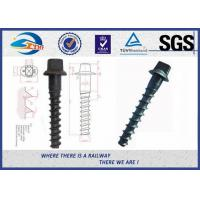 Customized Standard 35# Railroad Screw For Fastening Rail for sale
