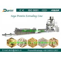 Buy cheap Double screw extruder machine for Soya Protein , soybean extruder machine from wholesalers