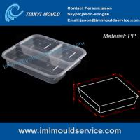 Wholesale disposable 3-compartment food container mould manufacturer from china suppliers