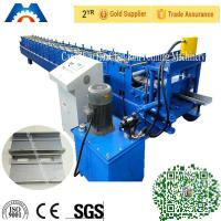 Best 3 Tons Shutters Door Frame Roll Forming Machine 180mm Width With PLC Control wholesale