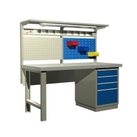 Wholesale CE ISO Machinery Repair ESD Laminate Cleanroom Bench from china suppliers