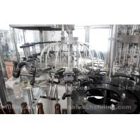 Best Glass Bottle High Speed Mineral Water Filling Line 3 In 1 12 - 32 Filling Head wholesale