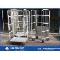 Wholesale Galvanized Durable Steel Roll Containers Foldable Medium Duty With Loading Capacity from china suppliers