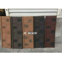 Wholesale Aluminum-zinc Material and Bent Tiles Type shingle stone coated steel roof sheet from china suppliers