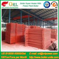 Wholesale 100M CFB Boiler Superheater Petrochemical Natural Gas Industry Boiler Spare Part from china suppliers