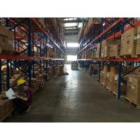 Anti - Rust Selective Pallet Storage Racks System With Forklift Moving