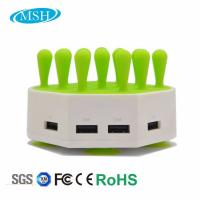 Wholesale Phone Tablet Multiple USB Charger Station, 4 Ports USB Desktop Charger Station from china suppliers