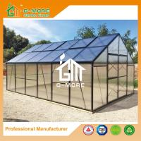 Wholesale Aluminum Greenhouse-Titan series-606X406X273CM-Green/Black Color-10mm thick PC from china suppliers